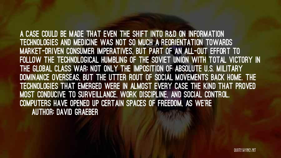 Freedom And Discipline Quotes By David Graeber