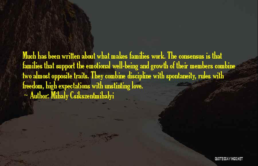Freedom And Discipline Quotes By Mihaly Csikszentmihalyi