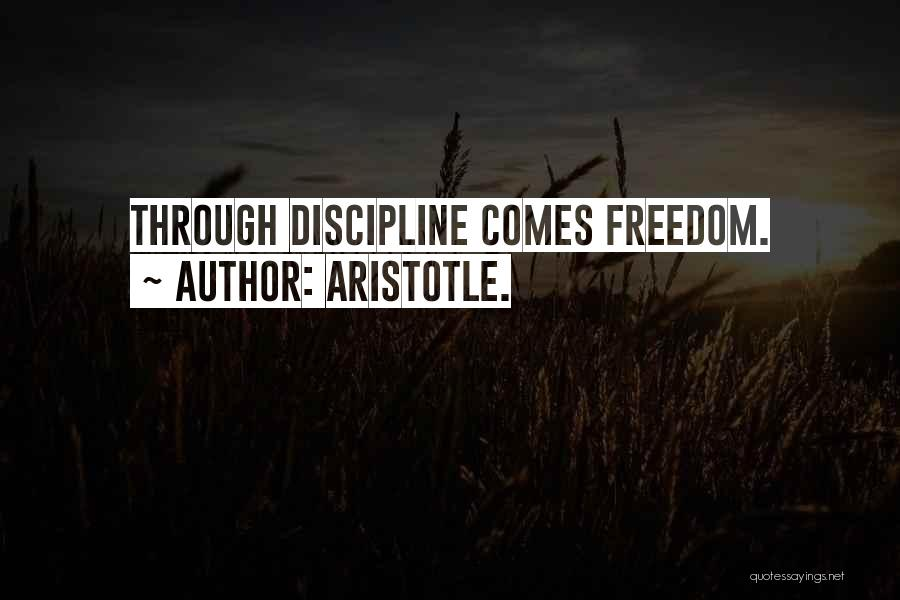 Freedom By Aristotle Quotes By Aristotle.