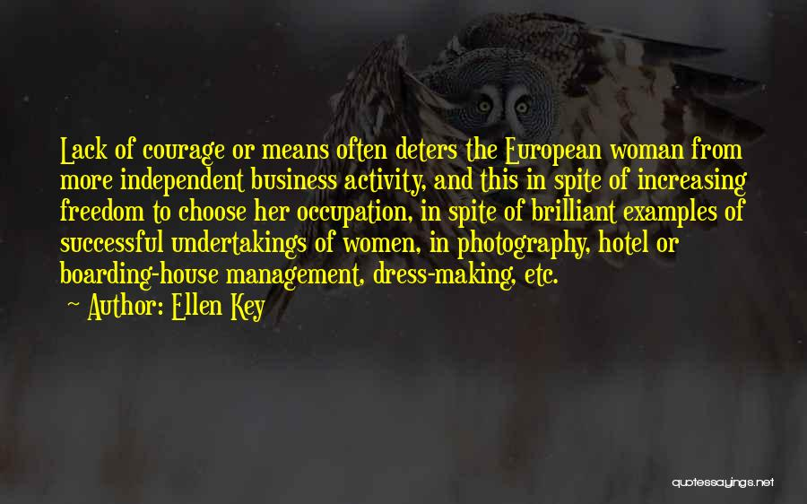 Freedom Of Dress Quotes By Ellen Key