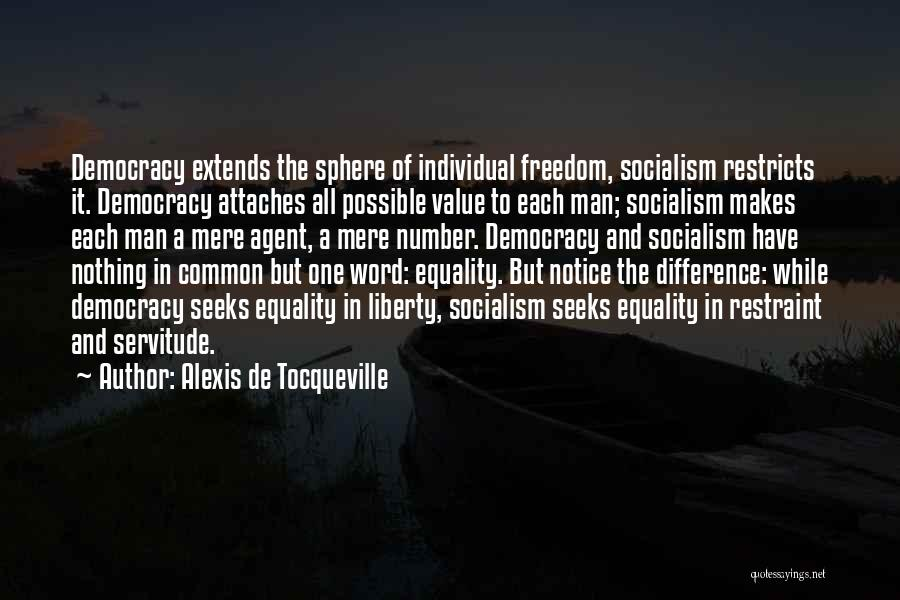 Freedom Of Equality Quotes By Alexis De Tocqueville