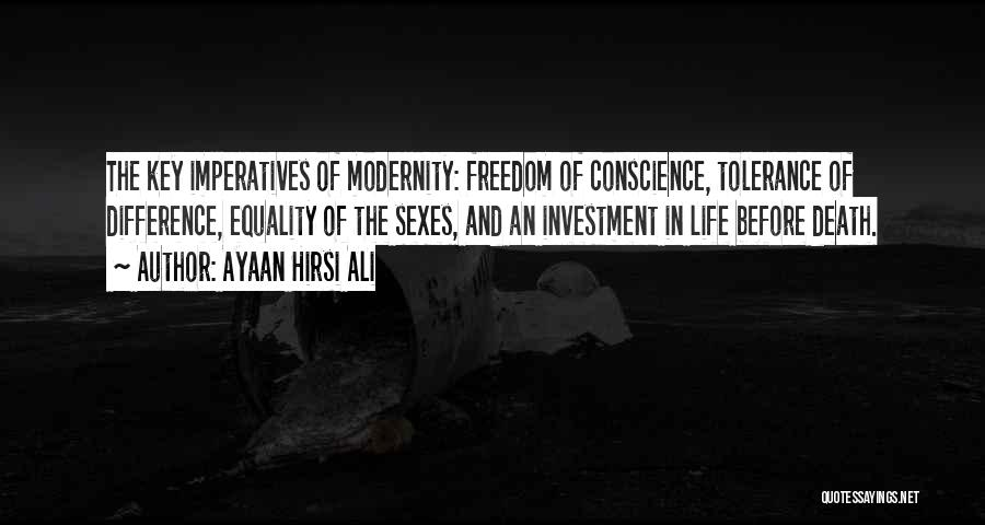 Freedom Of Equality Quotes By Ayaan Hirsi Ali