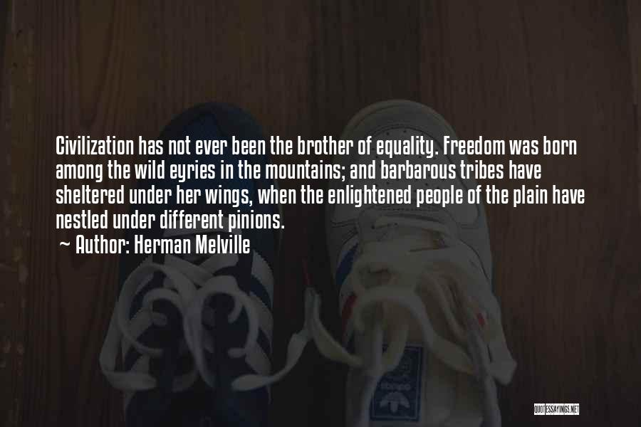 Freedom Of Equality Quotes By Herman Melville