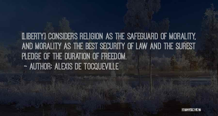 Freedom Of Religion Quotes By Alexis De Tocqueville