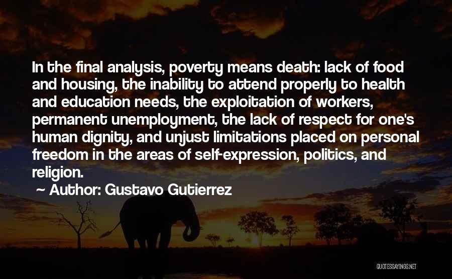 Freedom Of Religion Quotes By Gustavo Gutierrez