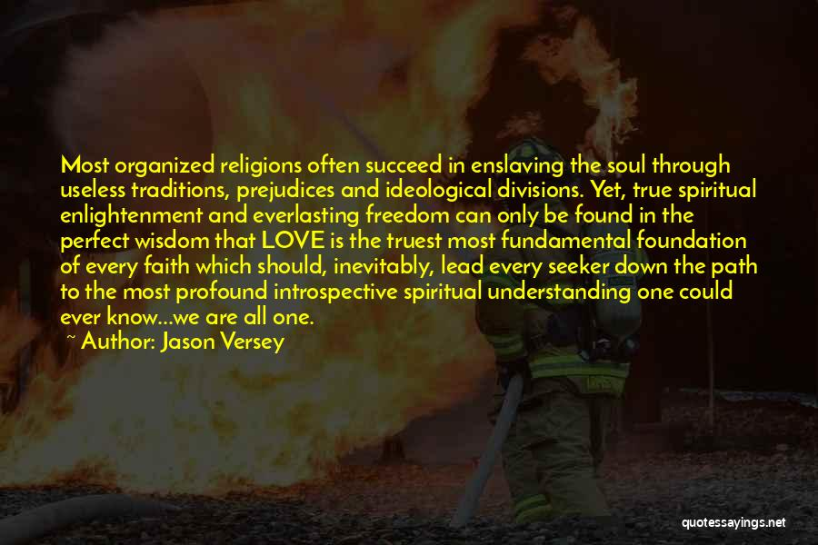 Freedom Of Religion Quotes By Jason Versey