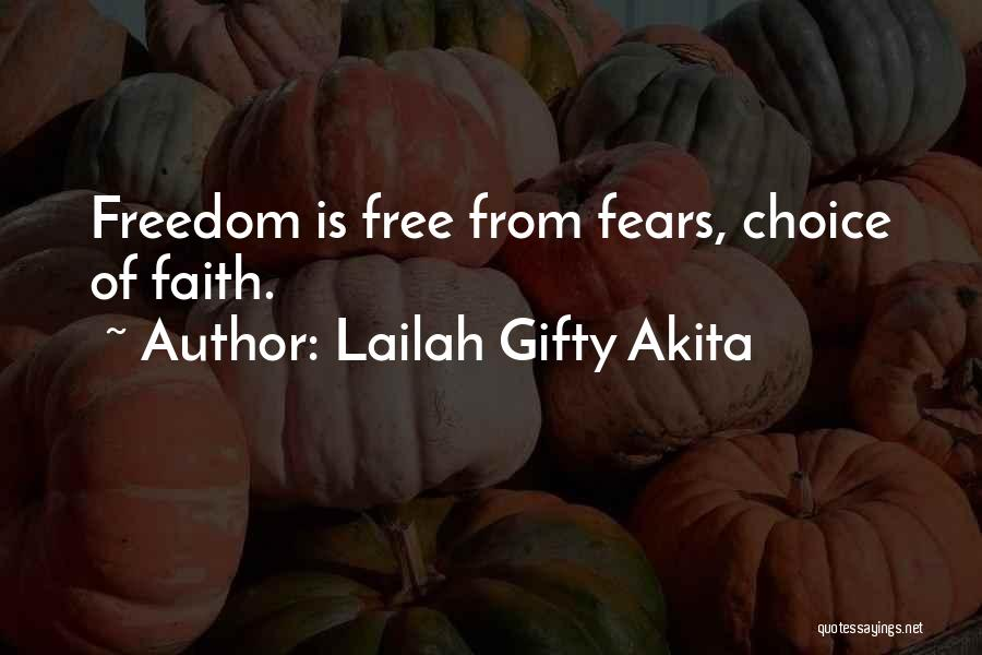 Freedom Of Religion Quotes By Lailah Gifty Akita
