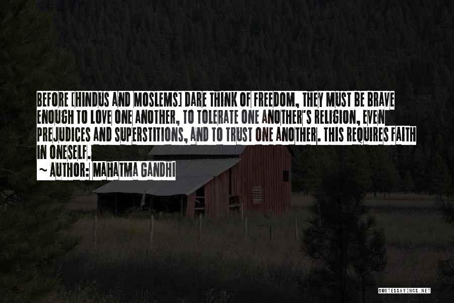 Freedom Of Religion Quotes By Mahatma Gandhi