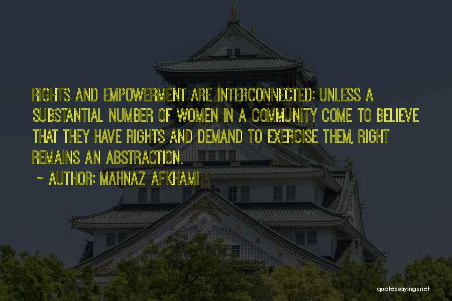 Freedom Of Religion Quotes By Mahnaz Afkhami