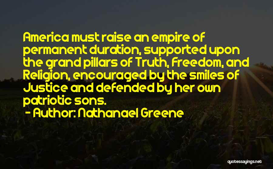 Freedom Of Religion Quotes By Nathanael Greene