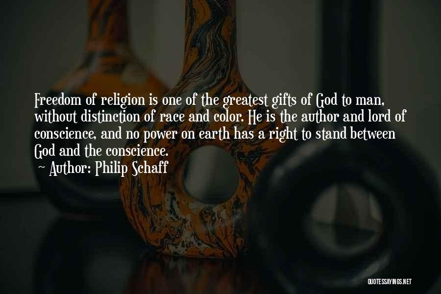 Freedom Of Religion Quotes By Philip Schaff