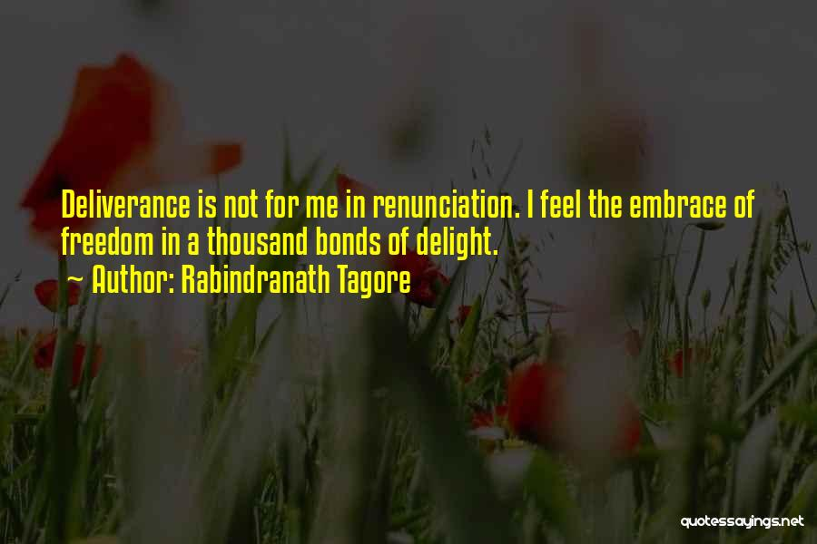 Freedom Of Religion Quotes By Rabindranath Tagore