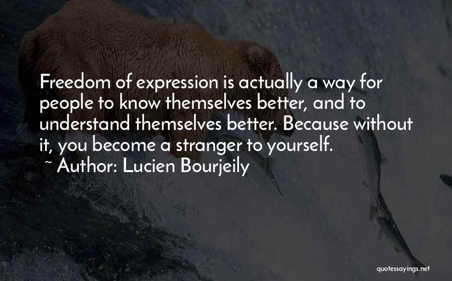 Freedom Of Speech And Expression Quotes By Lucien Bourjeily