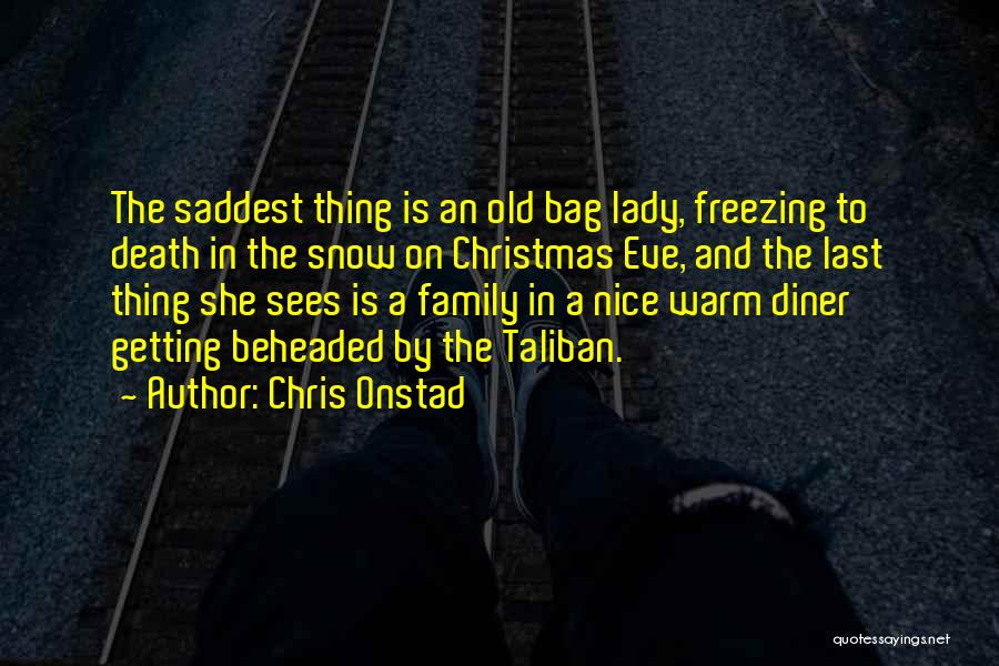 Freezing Quotes By Chris Onstad