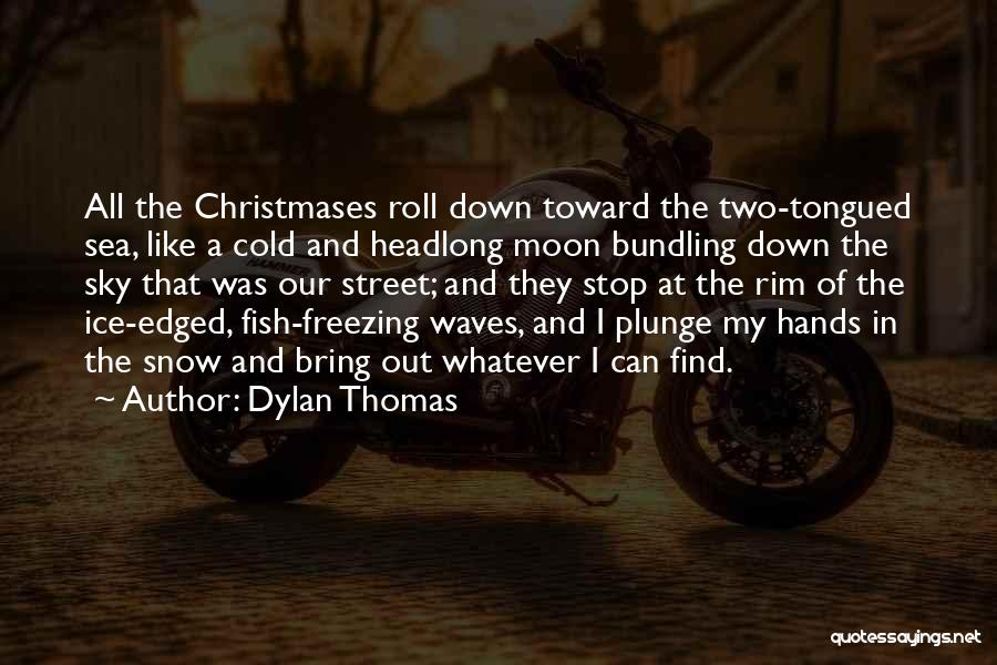 Freezing Quotes By Dylan Thomas