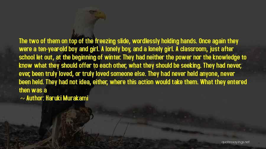 Freezing Quotes By Haruki Murakami