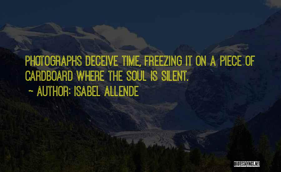 Freezing Quotes By Isabel Allende