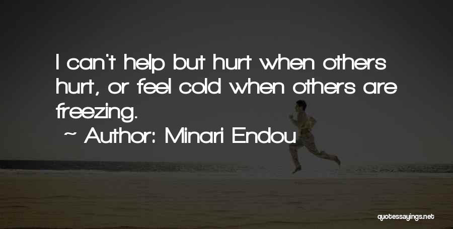 Freezing Quotes By Minari Endou