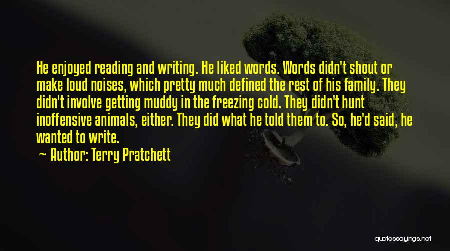 Freezing Quotes By Terry Pratchett