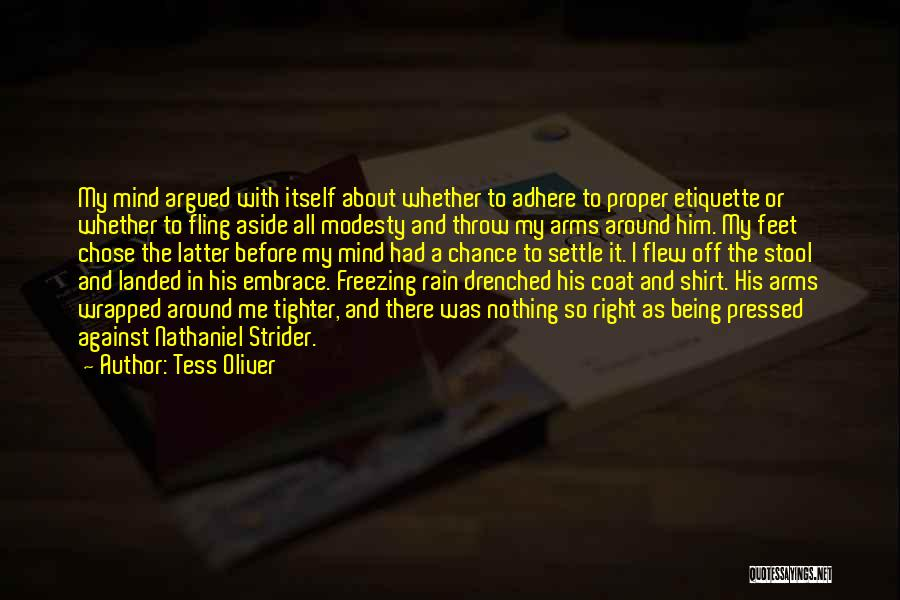 Freezing Quotes By Tess Oliver