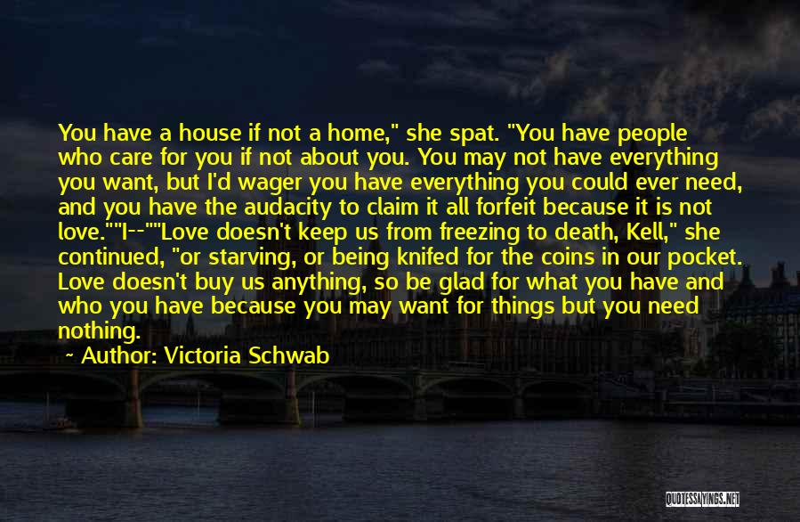 Freezing Quotes By Victoria Schwab