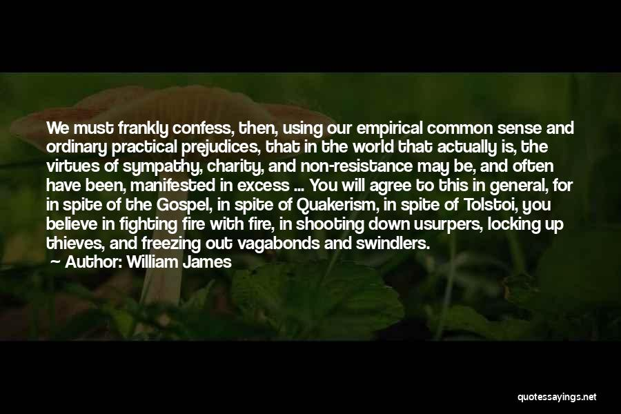 Freezing Quotes By William James