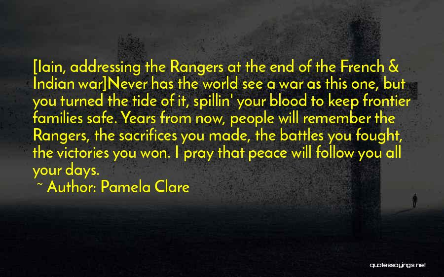 French And Indian War Quotes By Pamela Clare