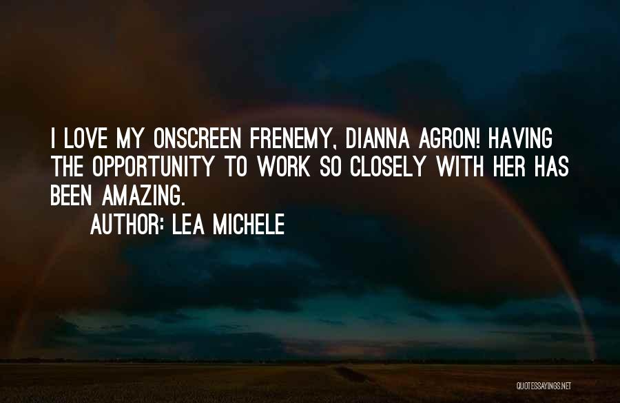 Frenemy Quotes By Lea Michele