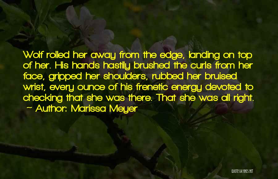 Frenetic Quotes By Marissa Meyer