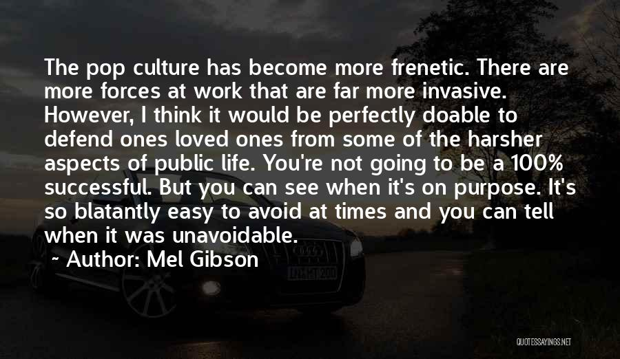 Frenetic Quotes By Mel Gibson