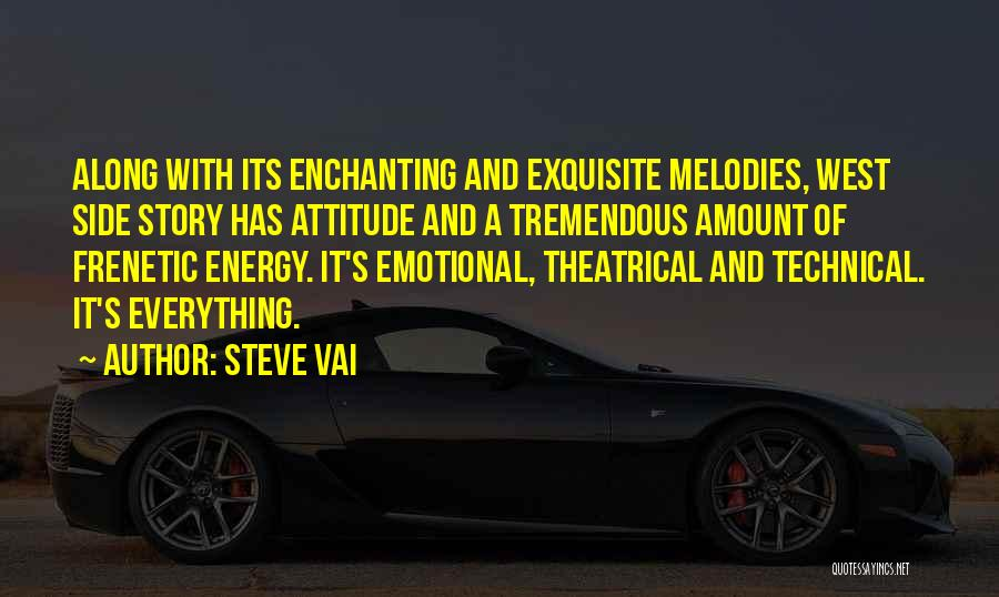 Frenetic Quotes By Steve Vai