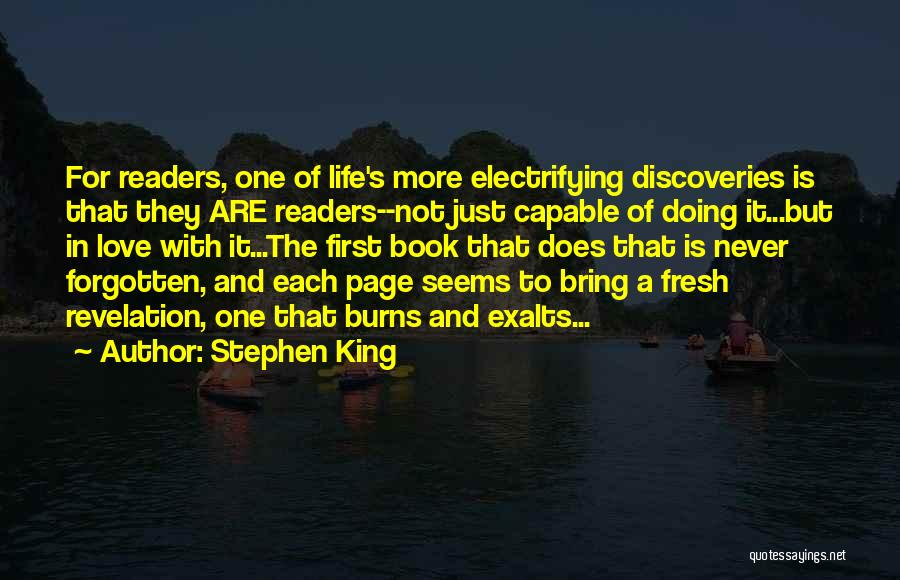 Fresh Love Quotes By Stephen King