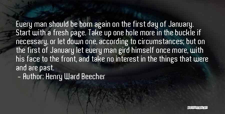 fresh start new year quotes by henry ward beecher