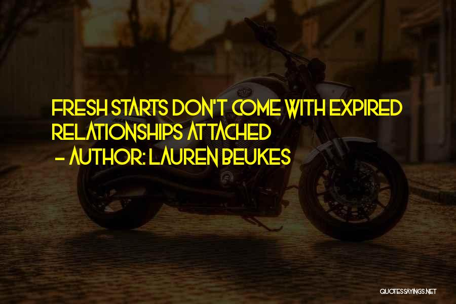 Fresh Starts Quotes By Lauren Beukes