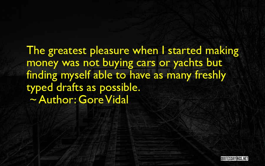 Freshly Quotes By Gore Vidal