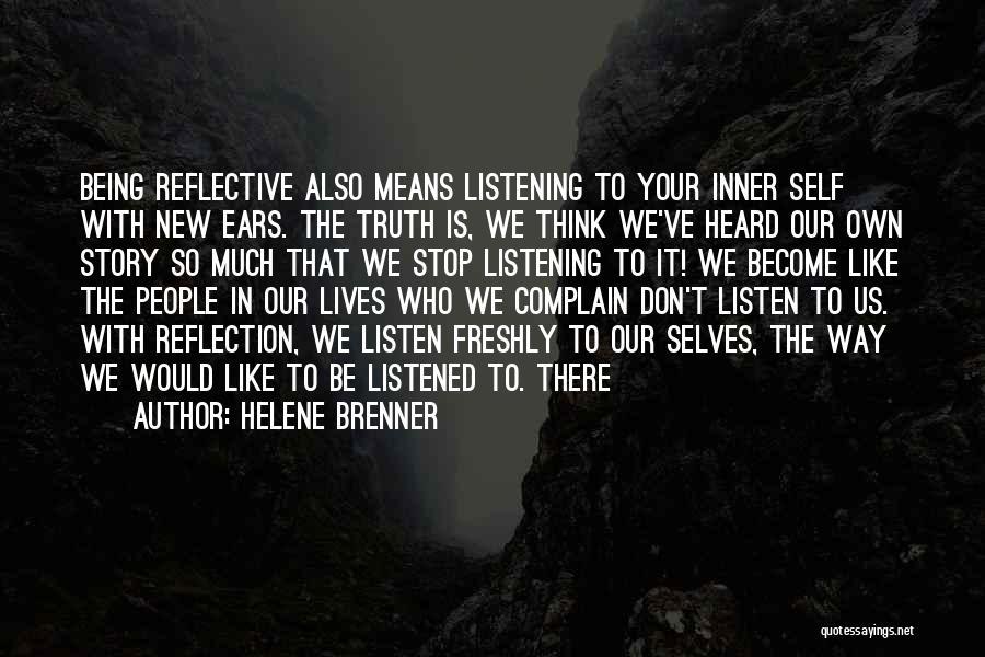 Freshly Quotes By Helene Brenner