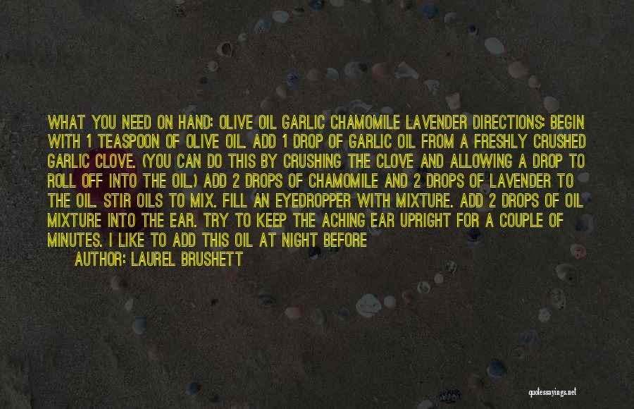 Freshly Quotes By Laurel Brushett