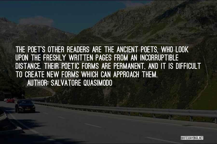 Freshly Quotes By Salvatore Quasimodo