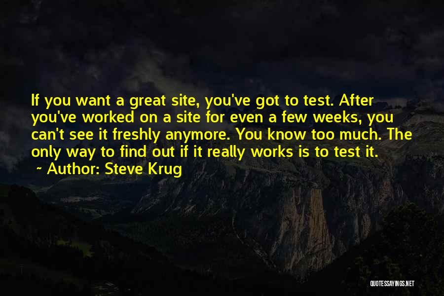 Freshly Quotes By Steve Krug
