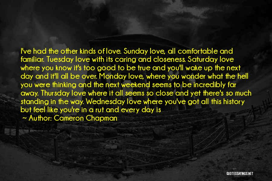 Friday The Next Quotes By Cameron Chapman
