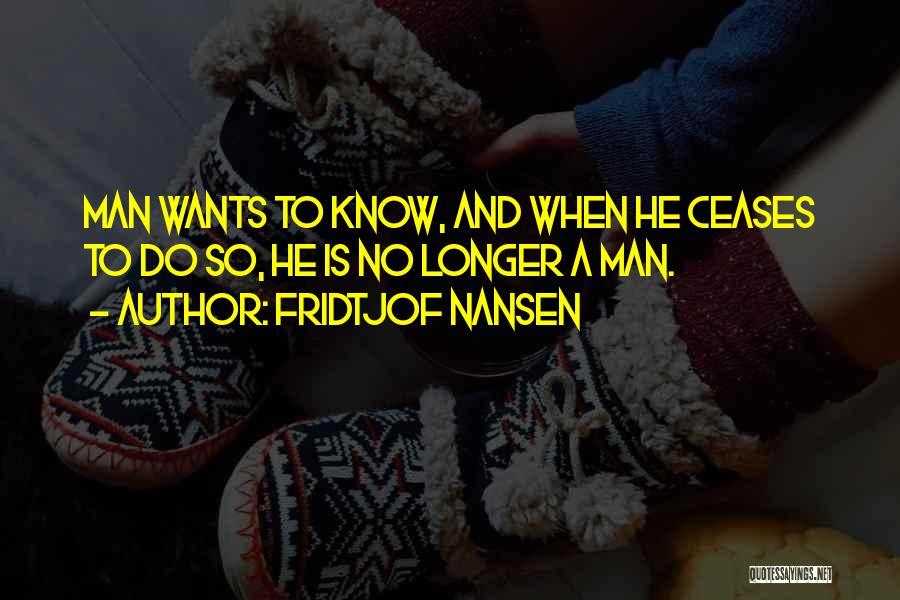 Fridtjof Nansen Quotes 1031200