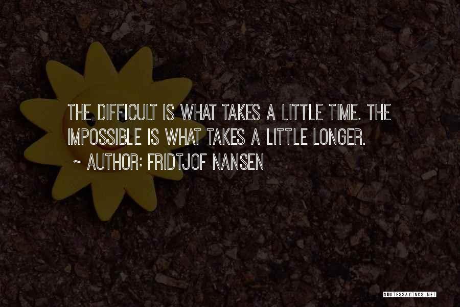 Fridtjof Nansen Quotes 106773