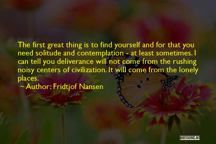 Fridtjof Nansen Quotes 2226464