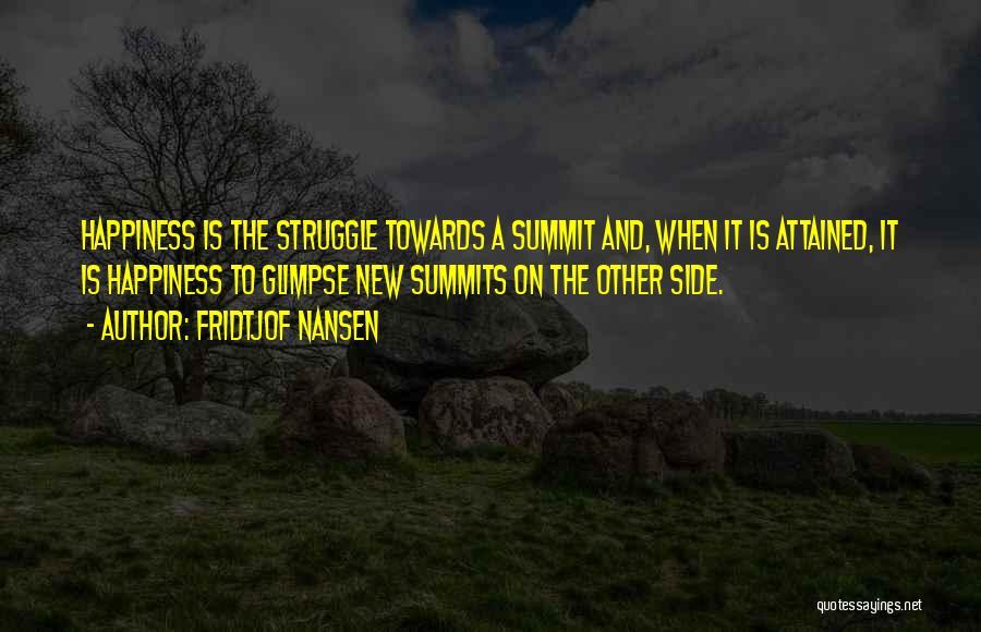 Fridtjof Nansen Quotes 238942