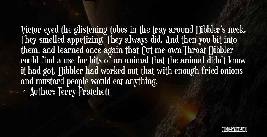 Fried Food Quotes By Terry Pratchett