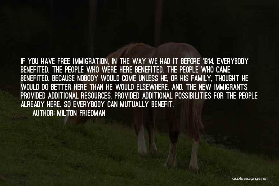 Friedman Milton Quotes By Milton Friedman