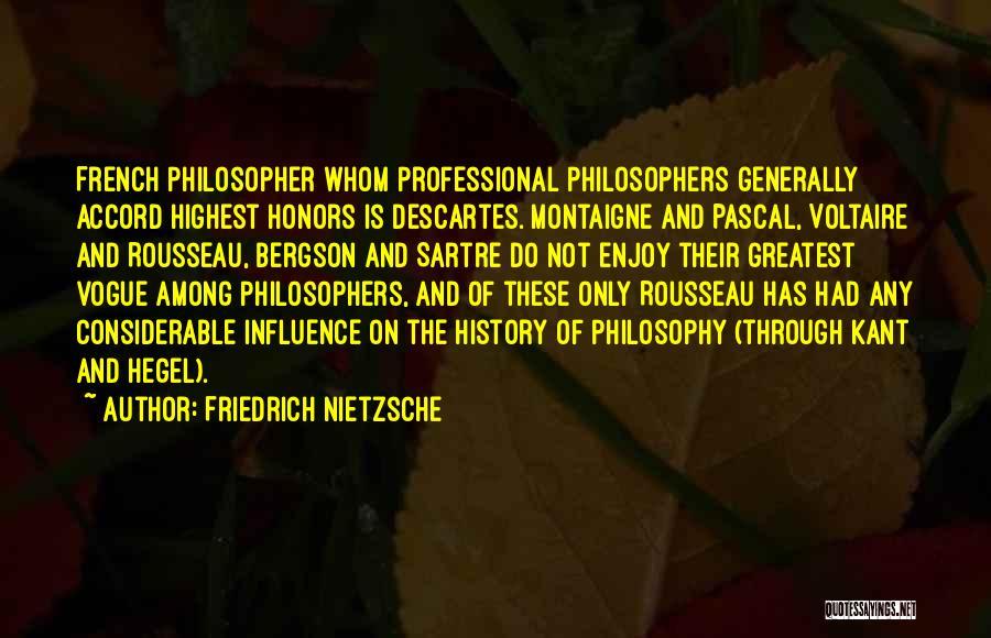 Friedrich Hegel Quotes By Friedrich Nietzsche