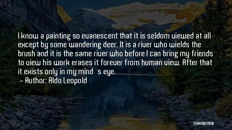 Friends Are Not Forever Quotes By Aldo Leopold