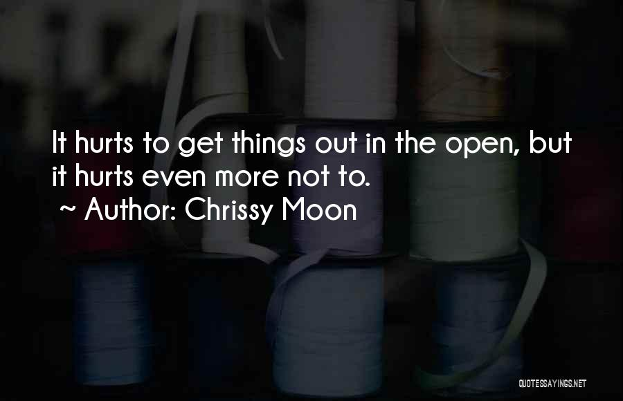 Friends But Love Quotes By Chrissy Moon