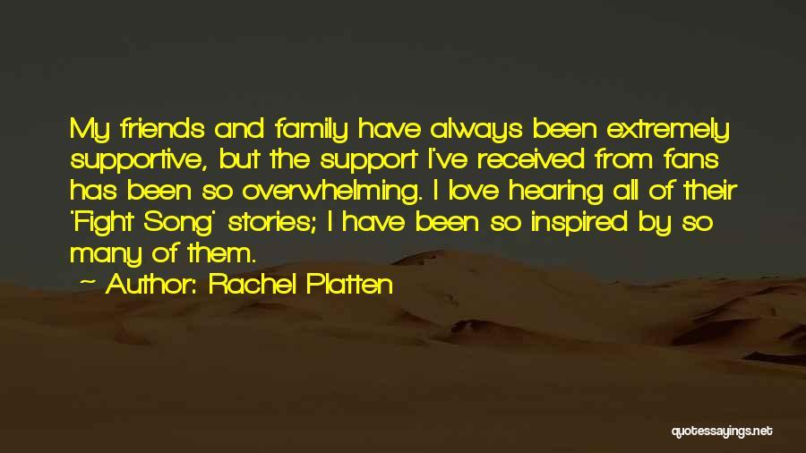 Friends But Love Quotes By Rachel Platten